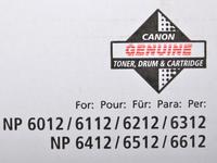 Тонер Canon NPG-11 1382A002 черный туба 280гр. для копира NP6012/6112/6212/6412/6512/6612