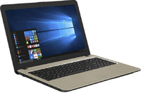 "Ноутбук Asus VivoBook X540MA-GQ064T Celeron N4000/4Gb/500Gb/Intel UHD Graphics 600/15.6""/HD (1366x768)/Windows 10/black/WiFi/BT/Cam"