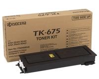 Тонер Картридж Kyocera TK-675 черный (20000стр.) для Kyocera KM-2540/3040/2560/3060