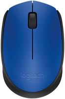 Мышь Logitech M171 синий/черный оптическая (1000dpi) беспроводная USB (2but)