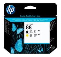Картридж струйный HP C9381A черный/желтый для HP OJ Pro K550/K5400/K8600