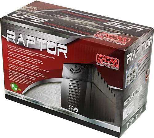 Источник бесперебойного питания Powercom Raptor RPT-600A 360Вт 600ВА черный