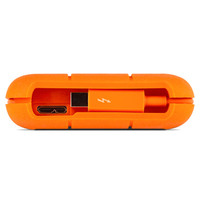 """Жесткий диск Lacie Original USB 3.0 1Tb STEV1000400 Rugged V2 2.5"""" оранжевый Thunderbolt"""