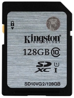 Kingston SD10VG2/128GB - Карта памяти формата SD